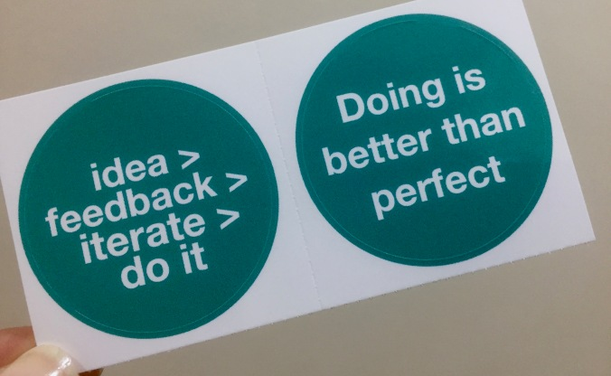 Practical Action Stickers